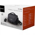 Sony - Battery & Carrying Case Kit for Select Sony Cameras