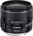 Canon - EF 24mm f/2.8 IS USM Wide-Angle Lens - Black