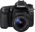 Canon - EOS 80D DSLR Camera with 18-55mm IS STM Lens - Black