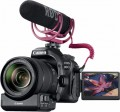 Canon - EOS 80D DSLR Camera with EF-S 18-135mm Lens Video Creator Kit - Black