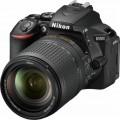 Nikon - D5600 DSLR Camera Body Only - Black