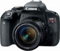 Canon - EOS Rebel T7i DSLR Camera with EF-S 18-55mm IS STM Lens - Black