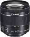 Canon - EF-S 18-55mm f/4-5.6 IS STM Zoom Lens for Canon EF-S mount cameras - Black