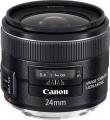 Canon - EF 24mm f/2.8 IS USM Wide-Angle Lens - Black